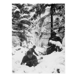 290o Regimiento americano en la batalla de las Ard Tarjetas Postales