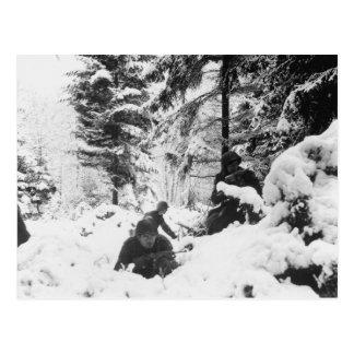 290o Regimiento americano en la batalla de las Ard Postal