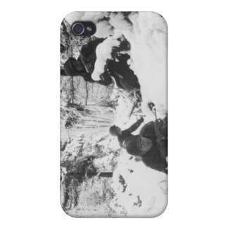 290th American Regiment in the Battle of the Bulge iPhone 4 Cover