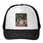 292Rudy Meowy Christmas Mesh Hats