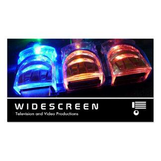293 con pantalla grande - Eje de USB Tarjetas De Visita