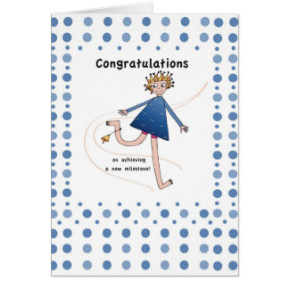 2957 New Milestone Congratulations Card