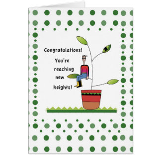 2958 New Heights, Congratulations Card