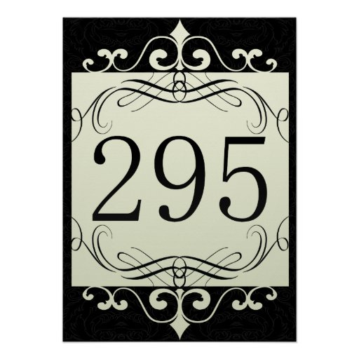 295 Area Code Poster