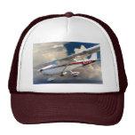 2976U que desciende Cessna 172 Gorro De Camionero