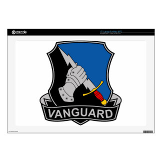 297th Military Intelligence Battalion - Vanguard Decal For Laptop