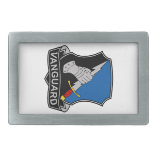 297th Military Intelligence Battalion - Vanguard Rectangular Belt Buckle
