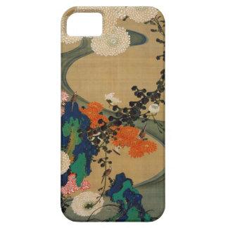 29. 菊花流水図, 若冲 Chrysanthemum & Stream, Jakuchū iPhone 5 Cover
