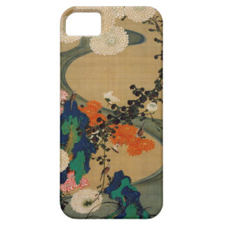 29. 菊花流水図, 若冲 Chrysanthemum & Stream, Jakuchū iPhone SE/5/5s Case