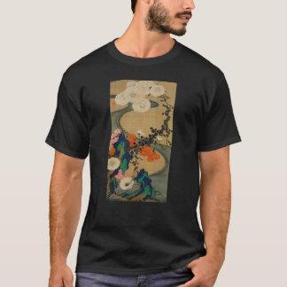 29. 菊花流水図, 若冲 Chrysanthemum & Stream, Jakuchū T-Shirt