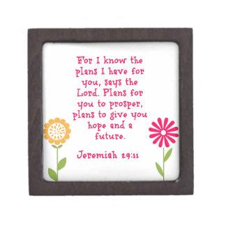 29:11 de Jeremiah Caja De Regalo De Calidad