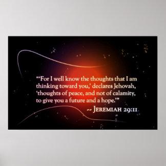 29:11 de Jeremiah Póster