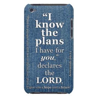 29:11 de Jeremiah sé el verso de la biblia de los  iPod Case-Mate Carcasa