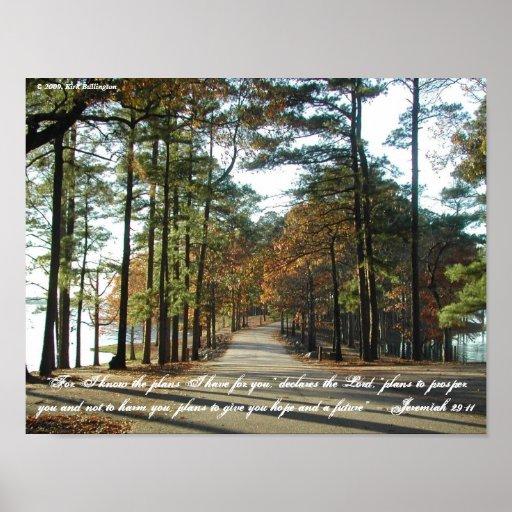 29:11 de Paseo-Jeremiah del lago Posters