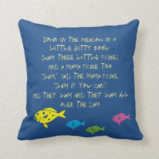 $ 29.95/€ 27.95  Three little Fishies Cushion