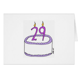 29 again greeting cards
