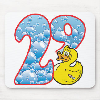 29 Age Duck Mouse Pad