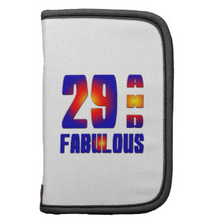 29 And Fabulous Planner