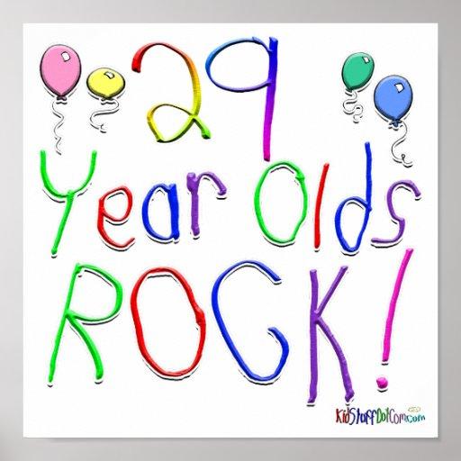 ¡29 años de la roca! póster