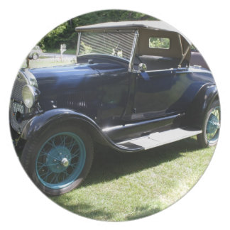 29 Antique Auto Dinner Plate