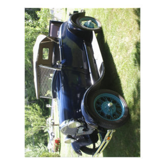 29 Antique Auto Letterhead