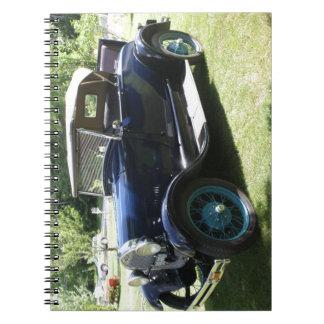 29 Antique Auto Notebook