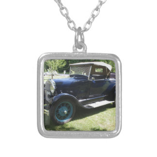 29 Antique Auto Silver Plated Necklace