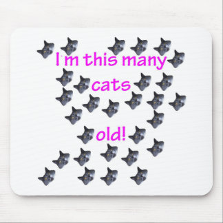 29 Cat Heads Old Mousepads