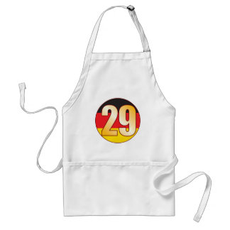 29 GERMANY Gold Adult Apron