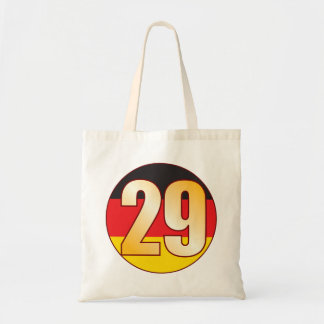 29 GERMANY Gold Tote Bag