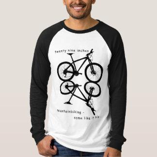 29 inches mountain biking t shirt