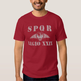 29 Julius Caesar's 29th Legion - Roman Eagle Shirt