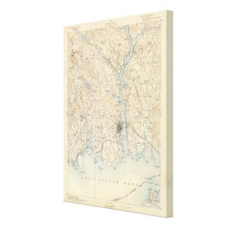 29 New London sheet Canvas Print