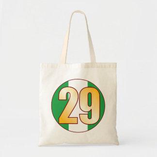 29 NIGERIA Gold Tote Bag