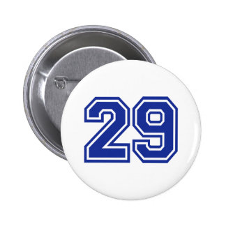 29 - number pinback button