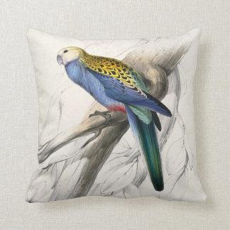 #29-Pale headed parrakeet Throw Pillow
