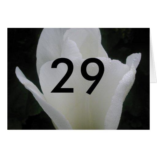 29 TARJETA DE FELICITACIÓN
