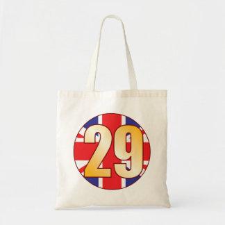 29 UK Gold Tote Bag