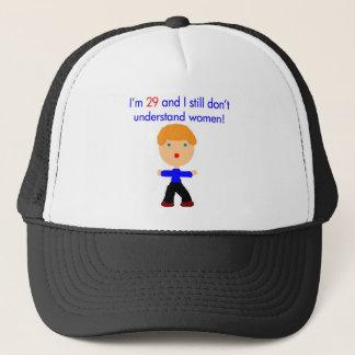 29 understand women trucker hat