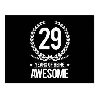 29no Cumpleaños (29 años de ser impresionantes) Postales
