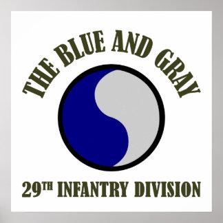 29no División de infantería Póster