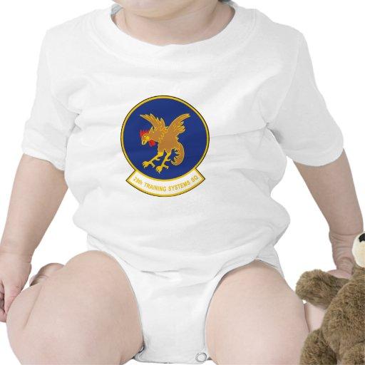29no Escuadrilla del sistema de entrenamiento Trajes De Bebé