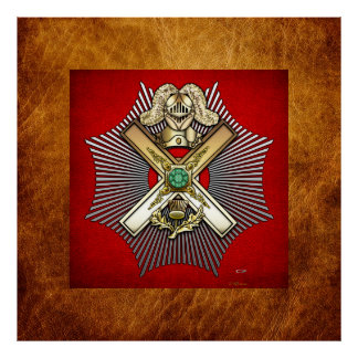 29no Grado: Caballero de St Andrew Impresiones