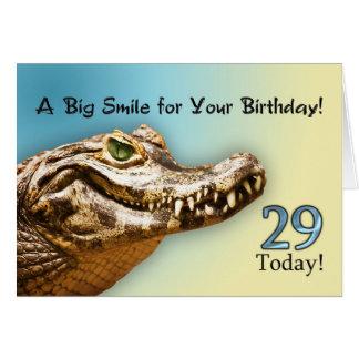 29no Invitación de la fiesta de cumpleaños Tarjeta De Felicitación