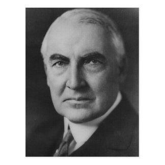 29no presidente de Warren G. Harding Postales