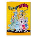 29no Tarjeta de cumpleaños - Moonies Doodlematoons