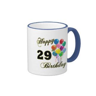 29nos regalos de cumpleaños felices con los globos taza de dos colores