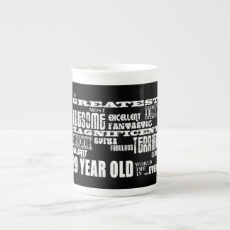 29th Birthday Party Greatest Twenty Nine Year Old Tea Cup