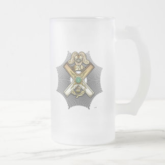 29th Degree: Knight of Saint Andrew 16 Oz Frosted Glass Beer Mug