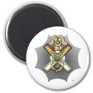 29th Degree: Knight of Saint Andrew 2 Inch Round Magnet